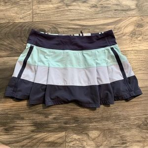 LULULEMON 6 Cool Breeze Cadet PACE RIVAL Skirt
